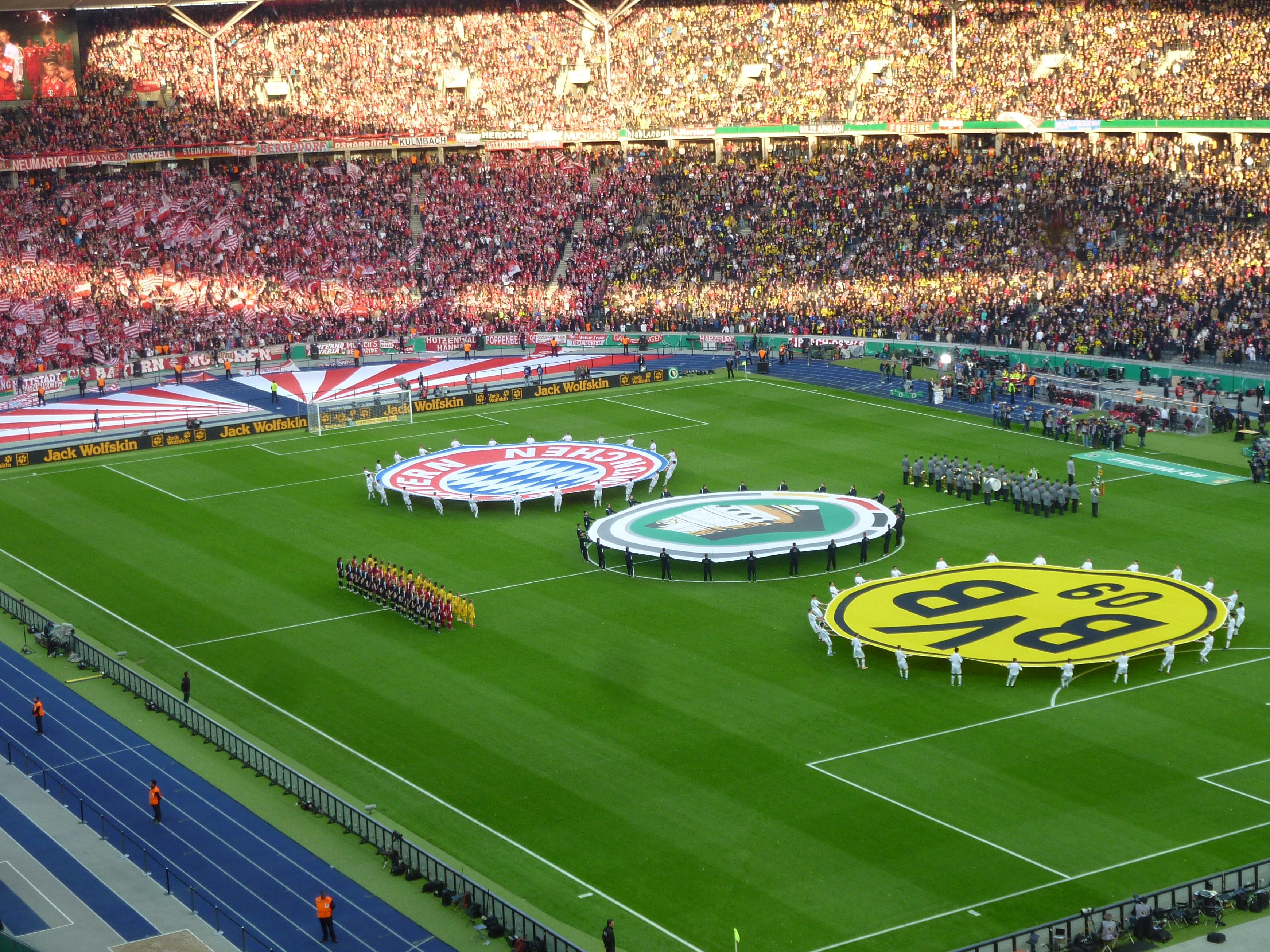 Pokalfinale Berlin am 12. Mai 2012