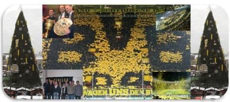 Was für ein Jahr!!! Der BVB-Fanclub Meschede wünscht frohe Weihnachten!
