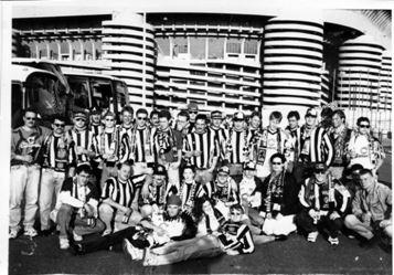 Vor fast genau 20 Jahren machte der BVB seine erste richtig große Auslandstour: Ziel war das Meazza-Stadion in Mailand