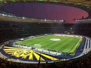Borussia spielt im Pokal-Halbfinale …
