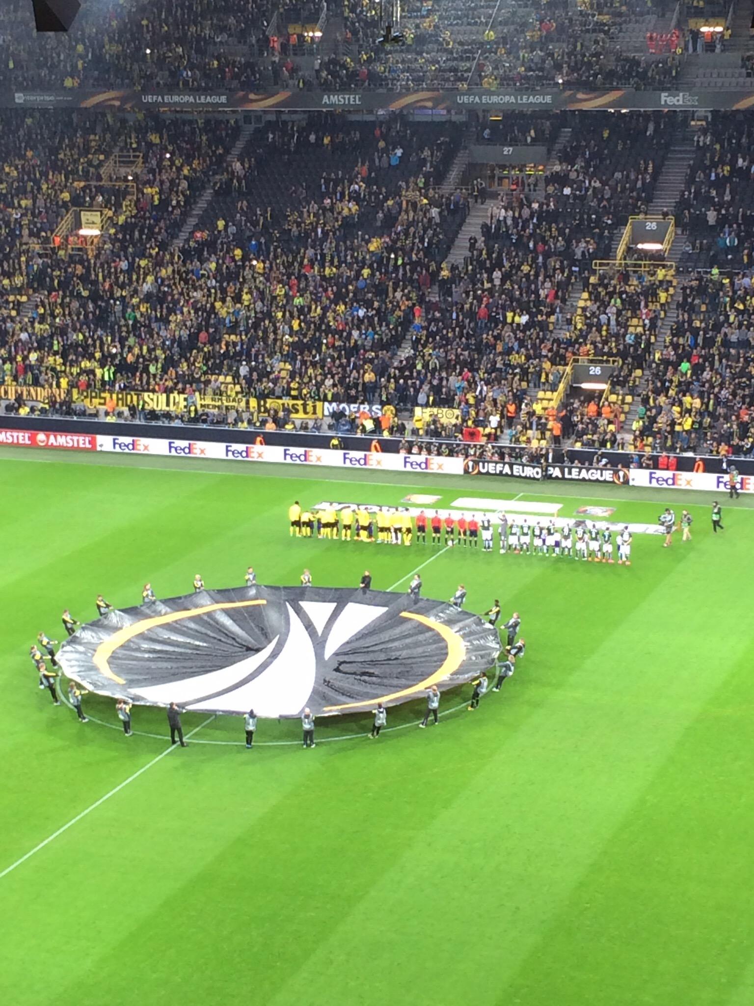 Borussia gegen FC Salzburg