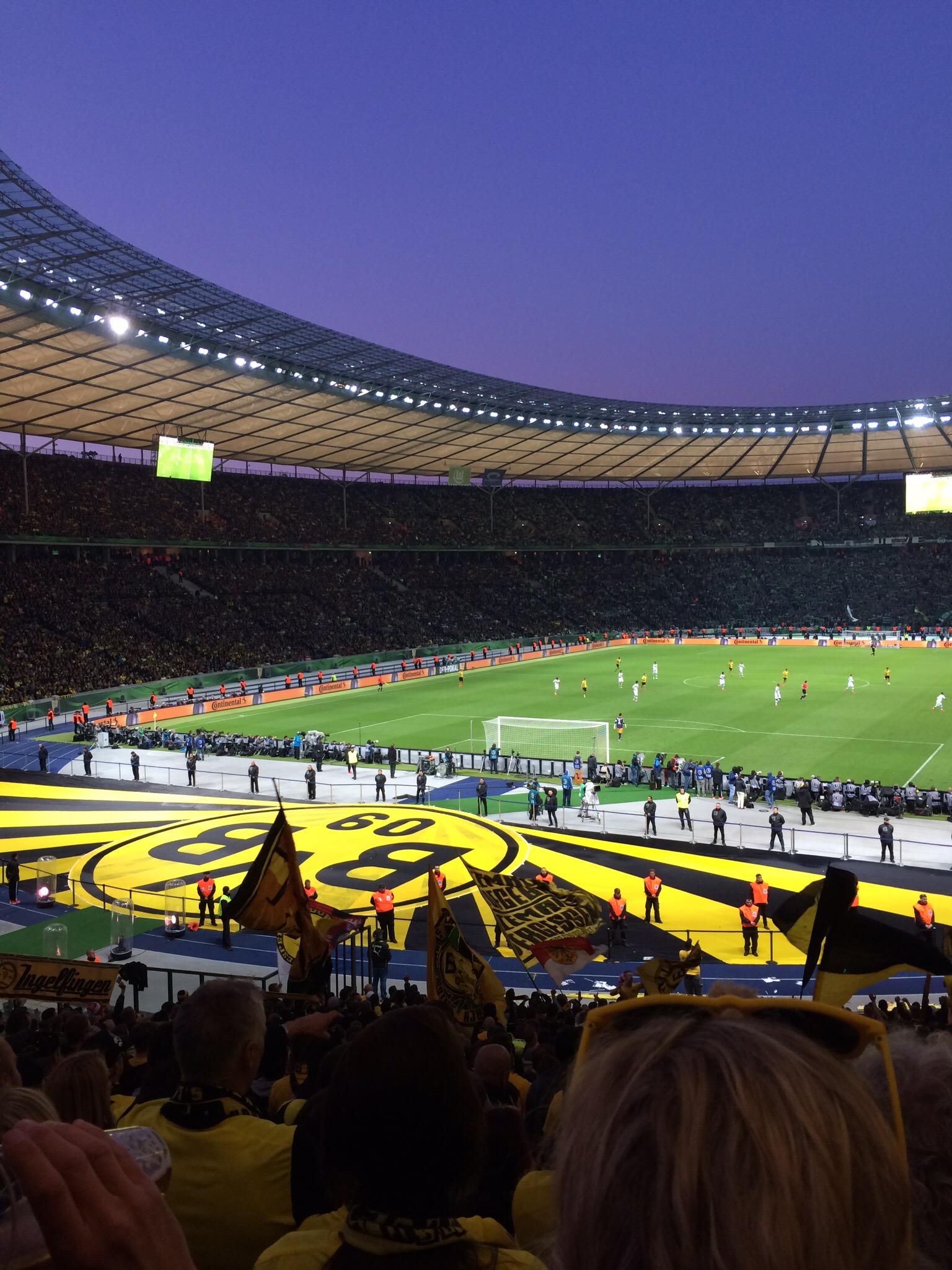 3:0 !!! Berlin, wir kommen wieder!!!